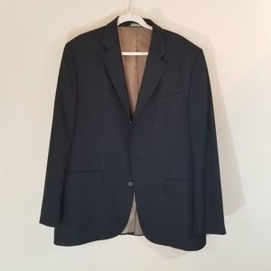 BANANA REPUBLIC STRIPPED BLAZER 46R
